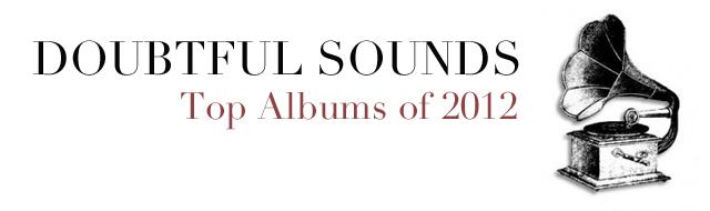 2012 TOP ALBUMS